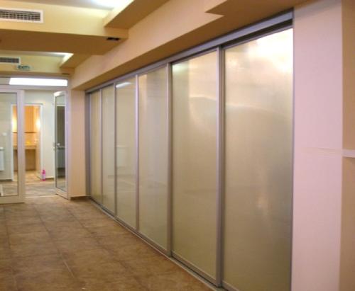 Плъзгащи врати за офис